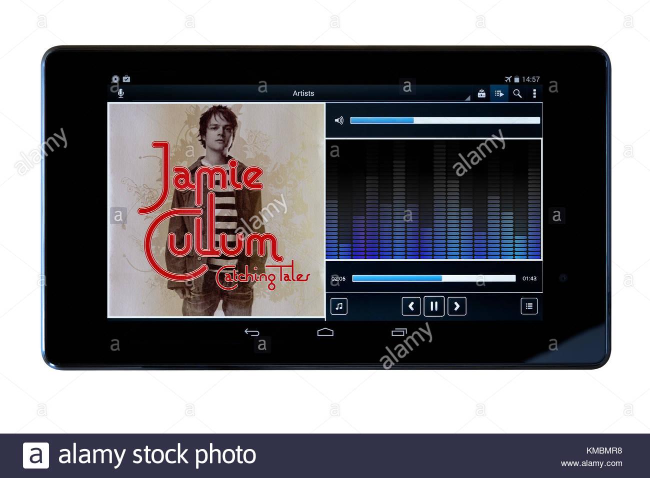 Jamie Cullum 2005 album, Catching Tales - Stock Image