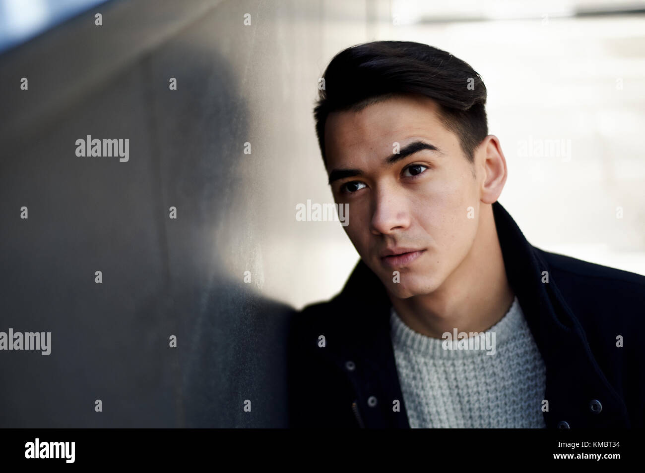 Dark Brown Hair Brown Eyes Man Stock Photos Dark Brown