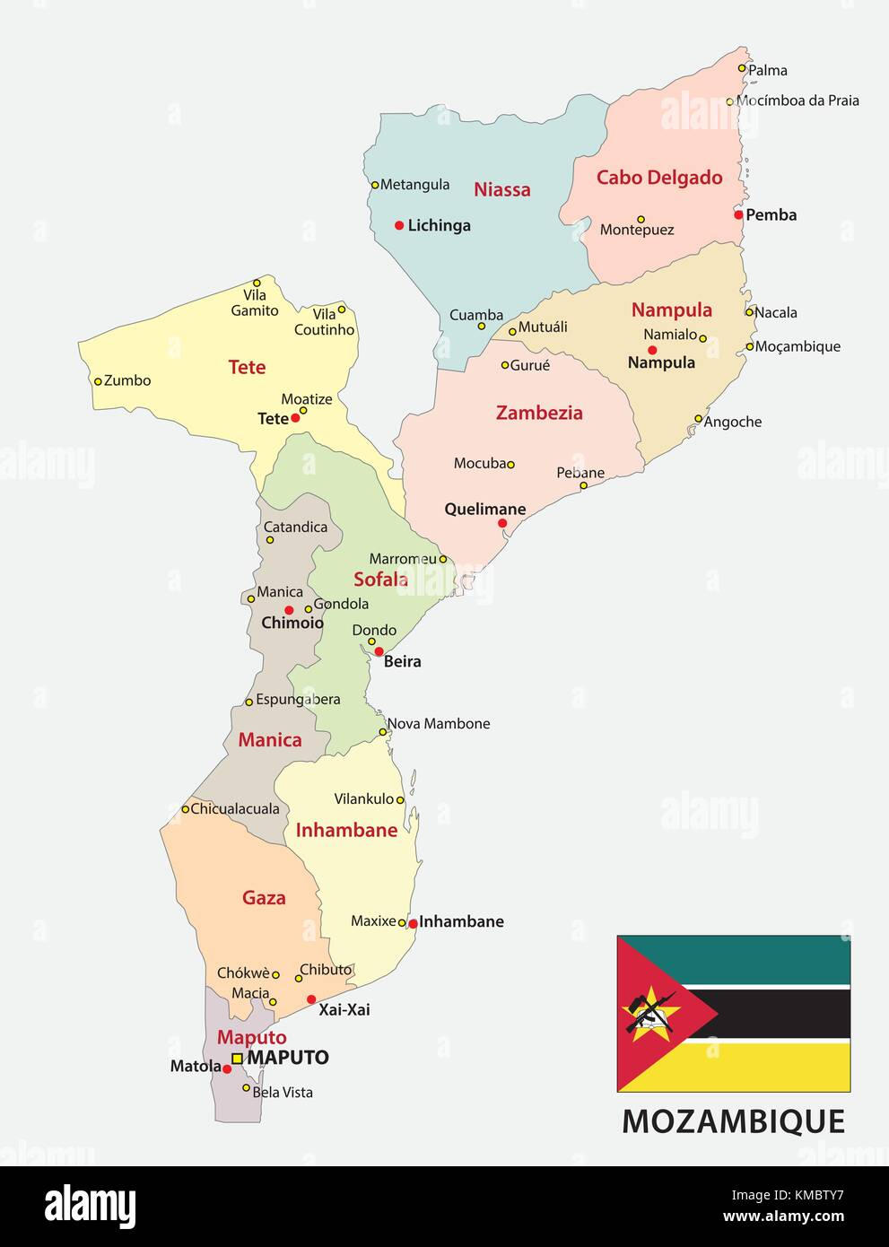 Flag Mozambique Stock Photos Flag Mozambique Stock Images Alamy