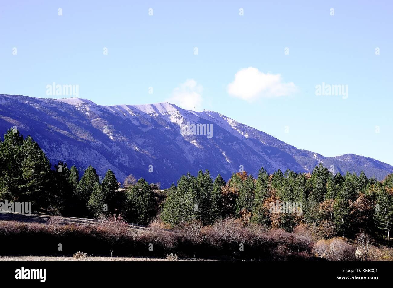 Paysage de Montagne - Stock Image