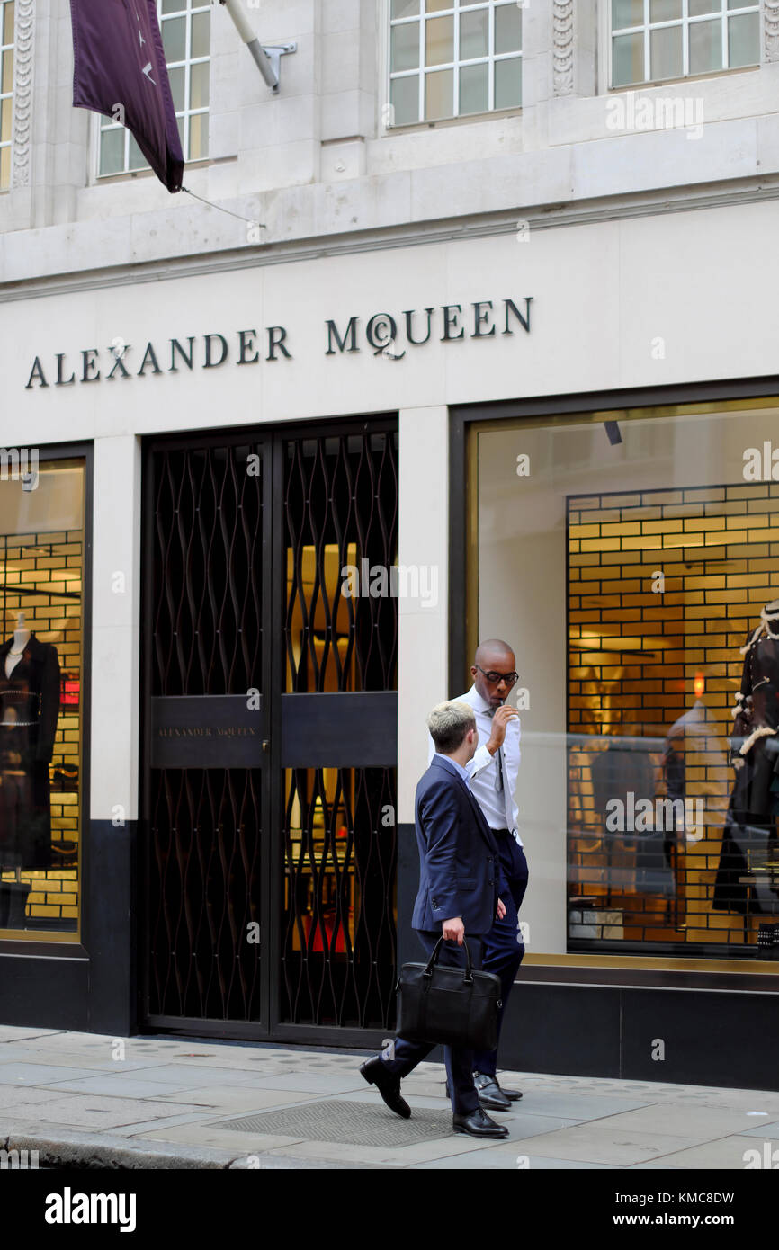 b9ebe2d9e508b Alexander Mcqueen store Old Bond Street, London, England, UK Stock ...