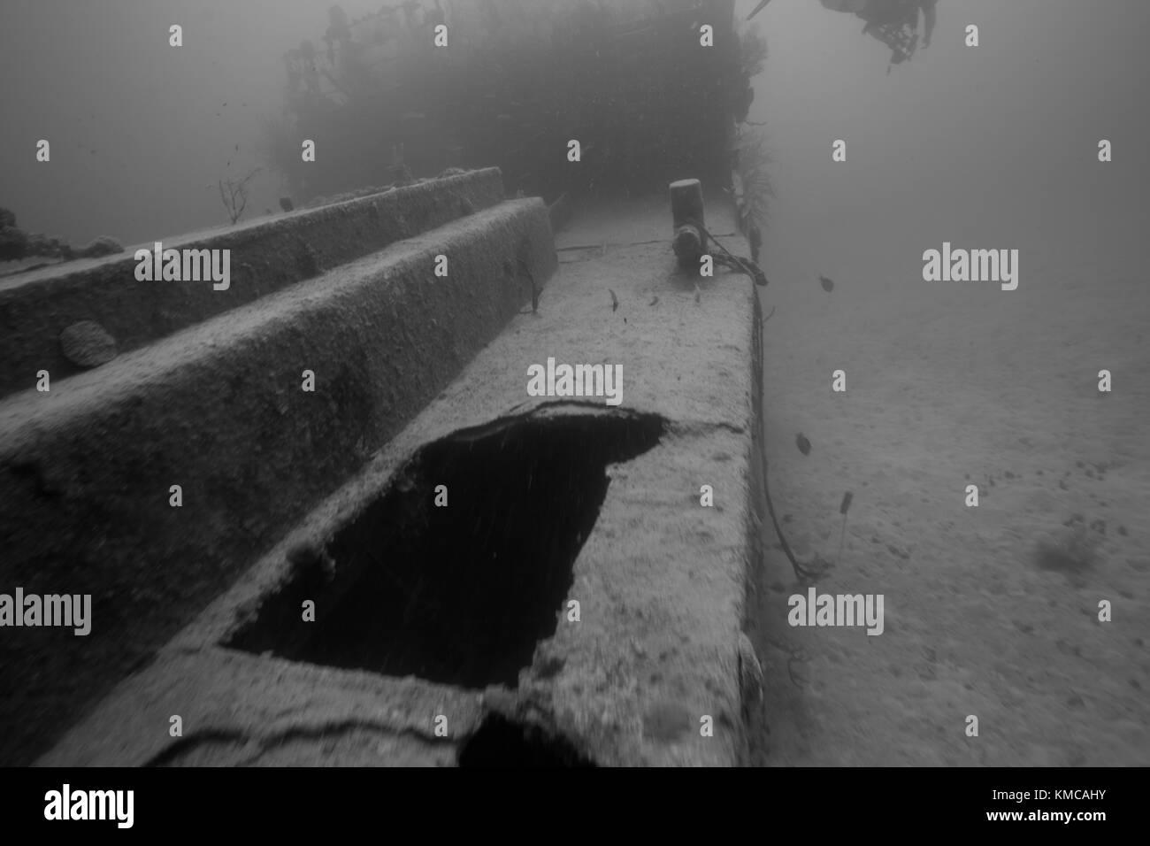 Wreck of Prince Albert Stock Photo