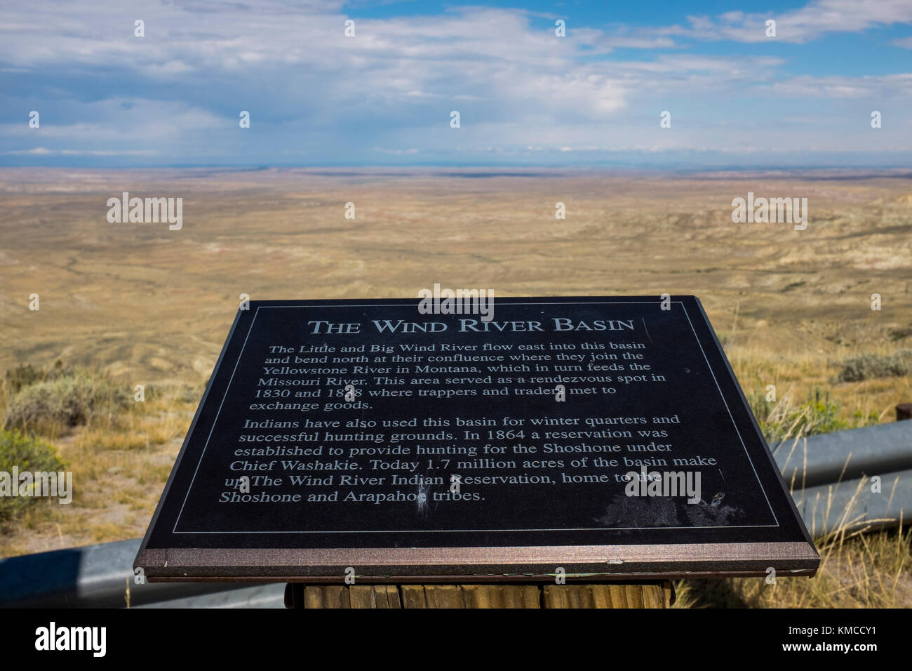 an overlook of the arapaho basin - Stock Image