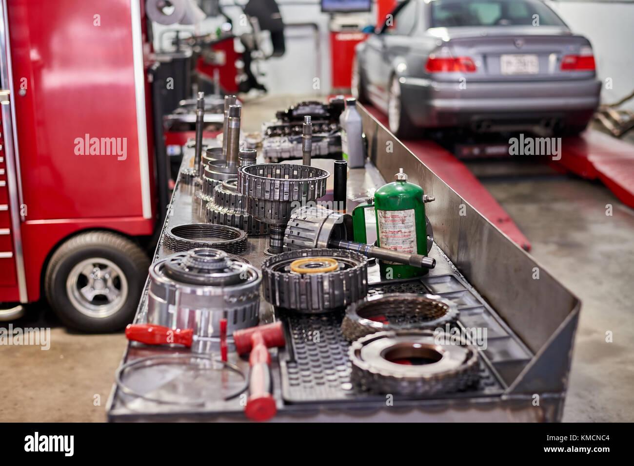 Transmission Parts - Stock Image