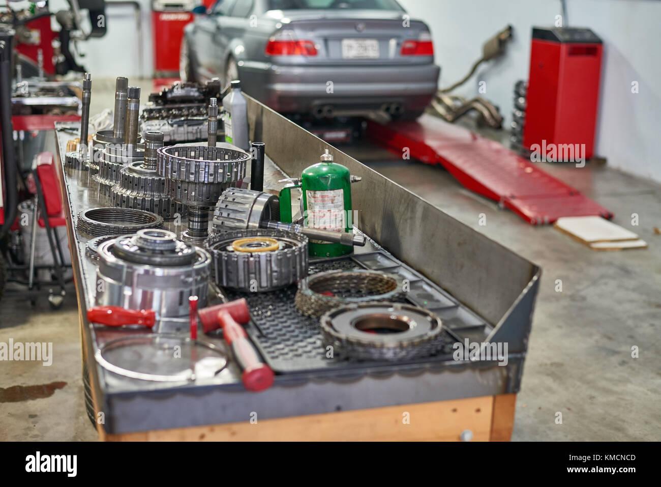 Transmission Rebuild - Stock Image