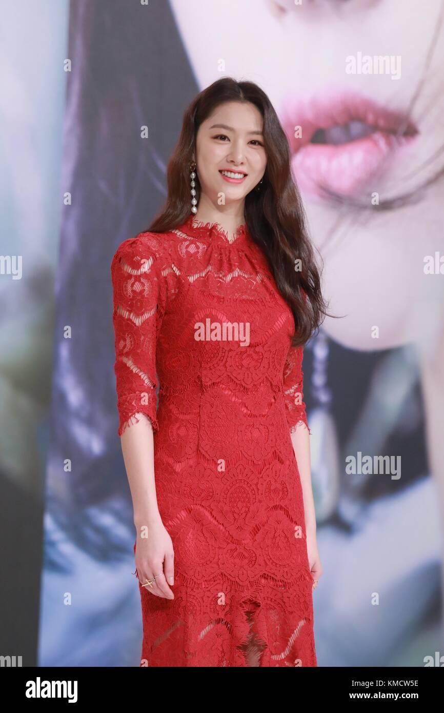 Seoul, Korea  05th Dec, 2017  Kim Rae-won, Shin Se-kyung