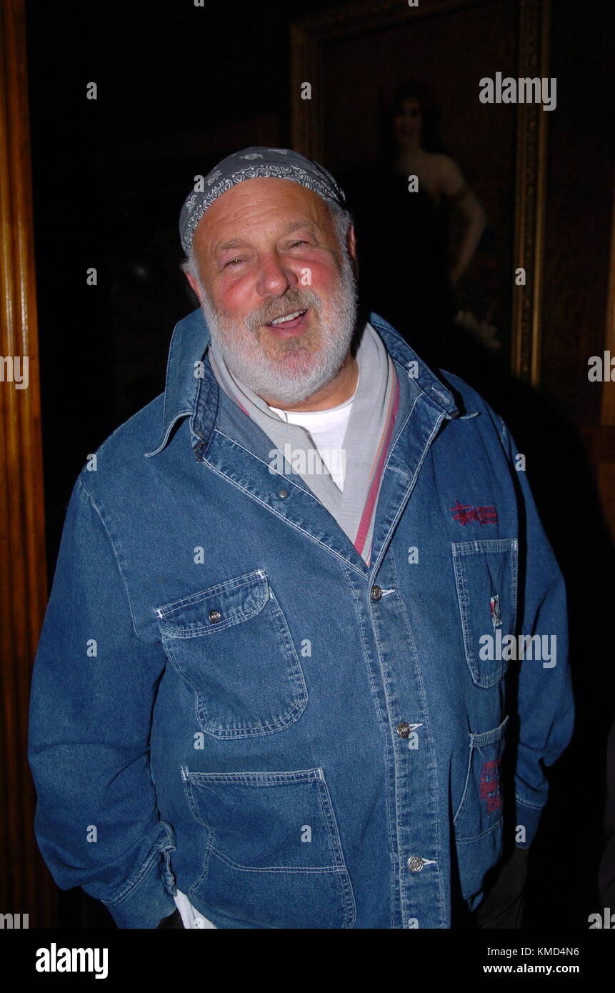 7/12/2017. FILE: MIAMI , FLORIDA 2005 Bruce Webber at The Forge Restaurant in Miami Beach   People:  Bruce Weber - Stock Image