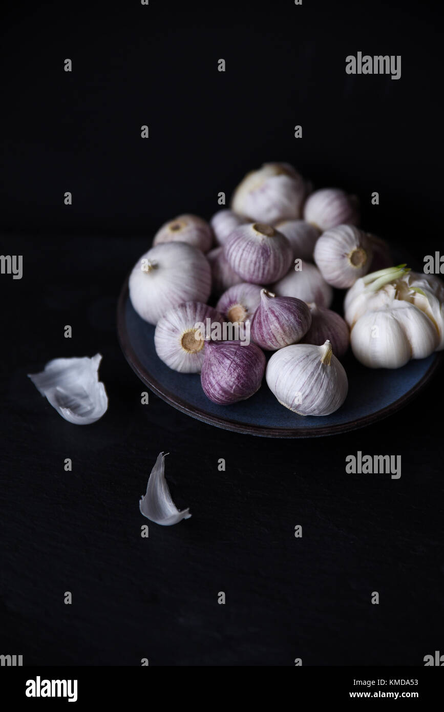 Mr Garlic - Stock Image