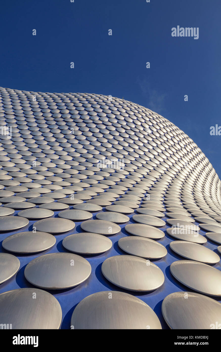 Architecture of  Bullring Building in Birmingham UK - Stock Image