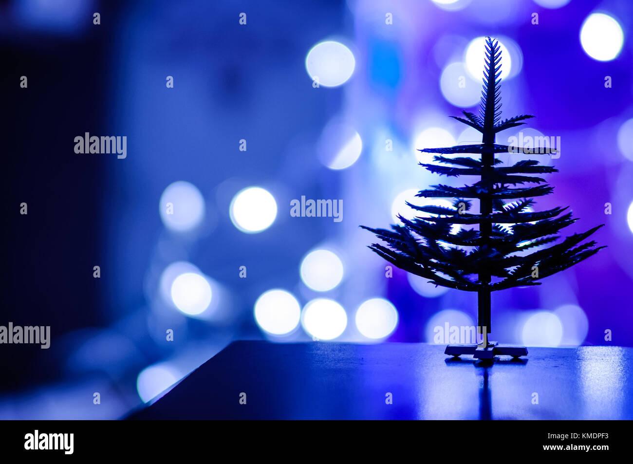 Blue christmas tinsel texture background stock photos & blue