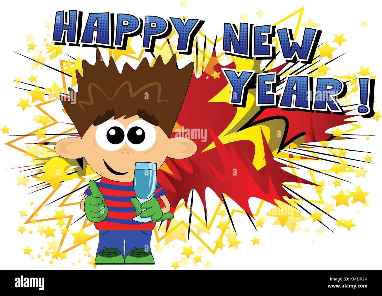 Happy New Year Cartoon 54