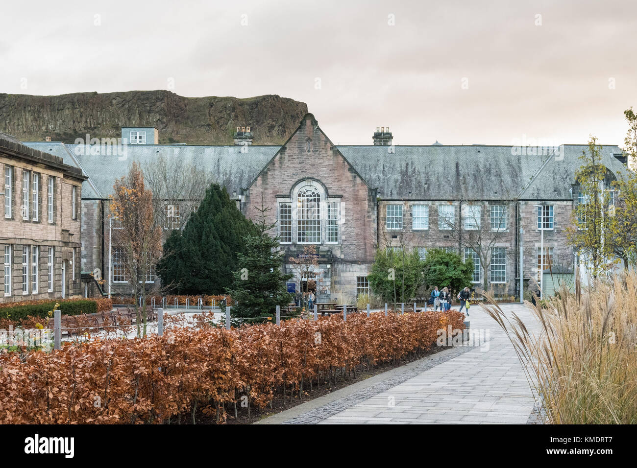 Moray House School of Education, Edinburgh University, Scotland, UK - Stock Image