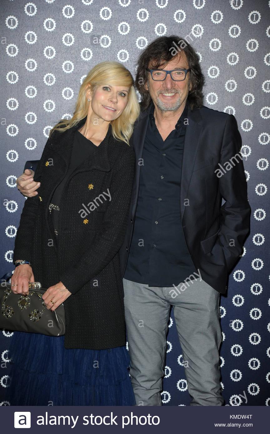 Claudio Cecchetto, Maria Paola Danna milano 30-10-2017 Stock Photo - Alamy