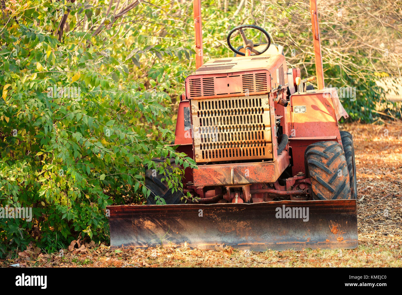 Ditch Witch Trenching Machine Stock Photos & Ditch Witch Trenching