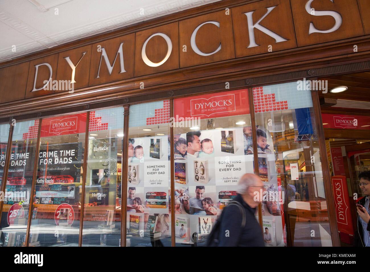 Dymocks book store bookseller in George street,Sydney,Australia - Stock Image