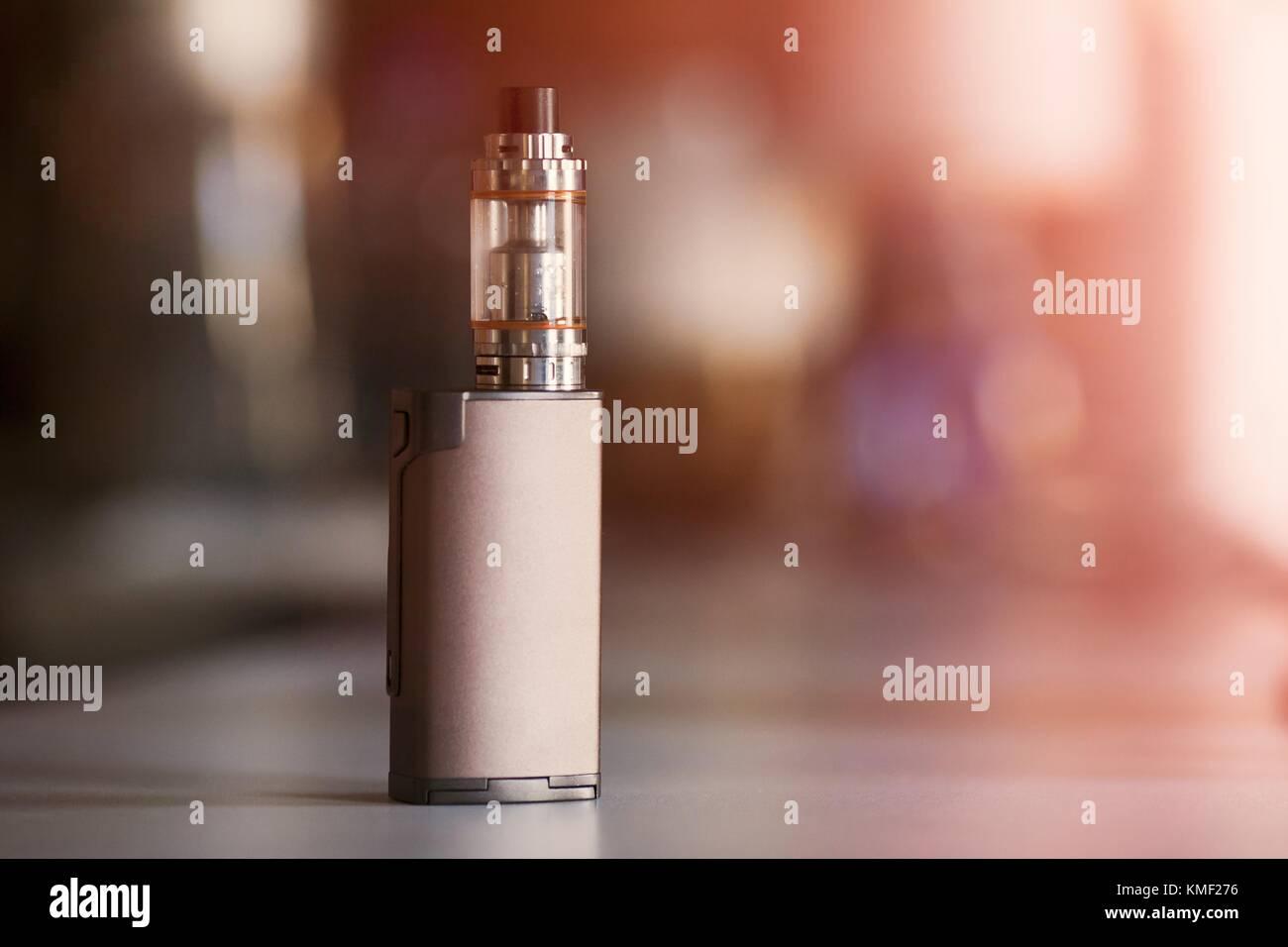 vape, electronic cigarette  blurred background  Popular