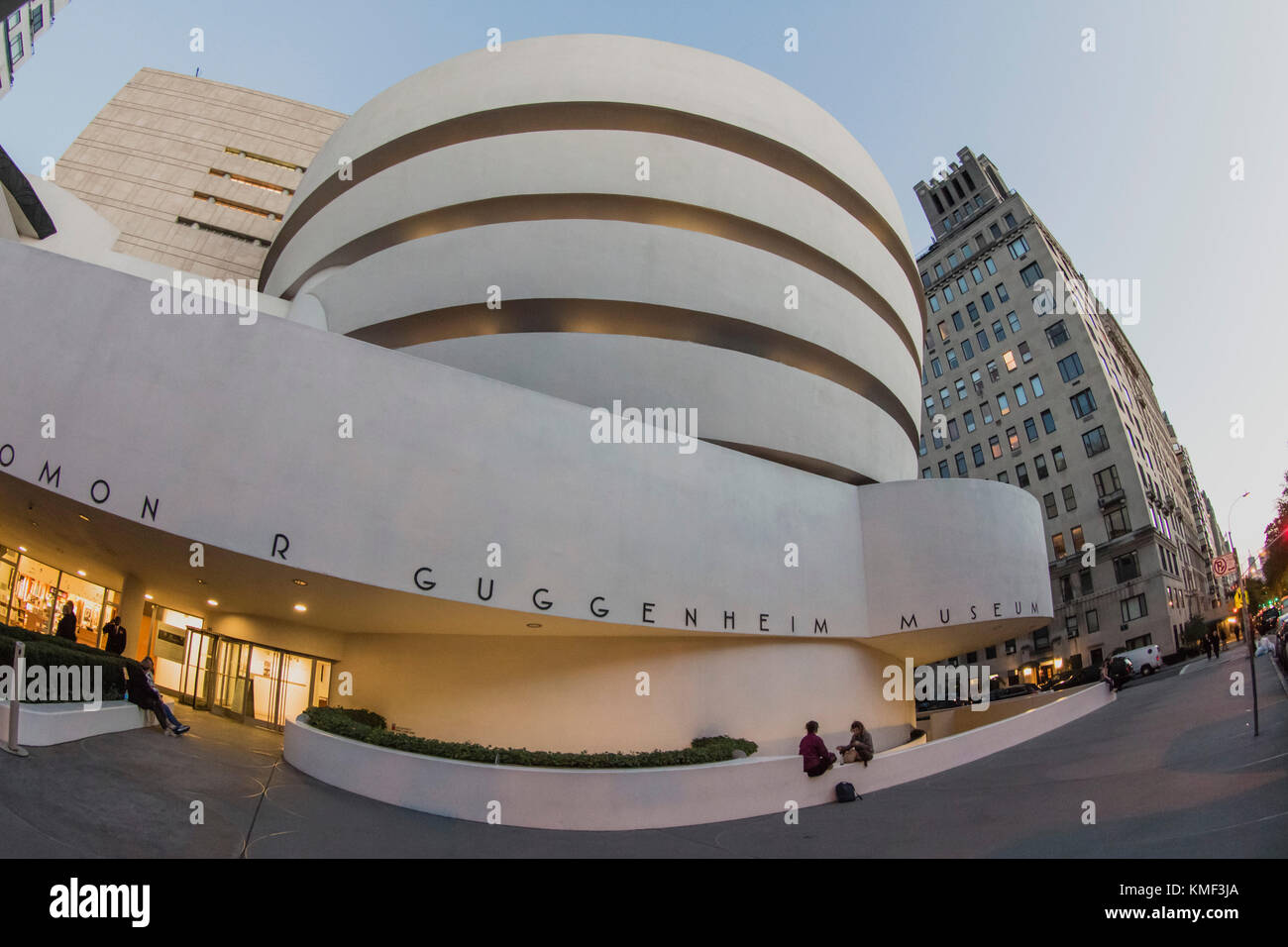Solomon R Guggenheim Musuem, NYC Stock Photo