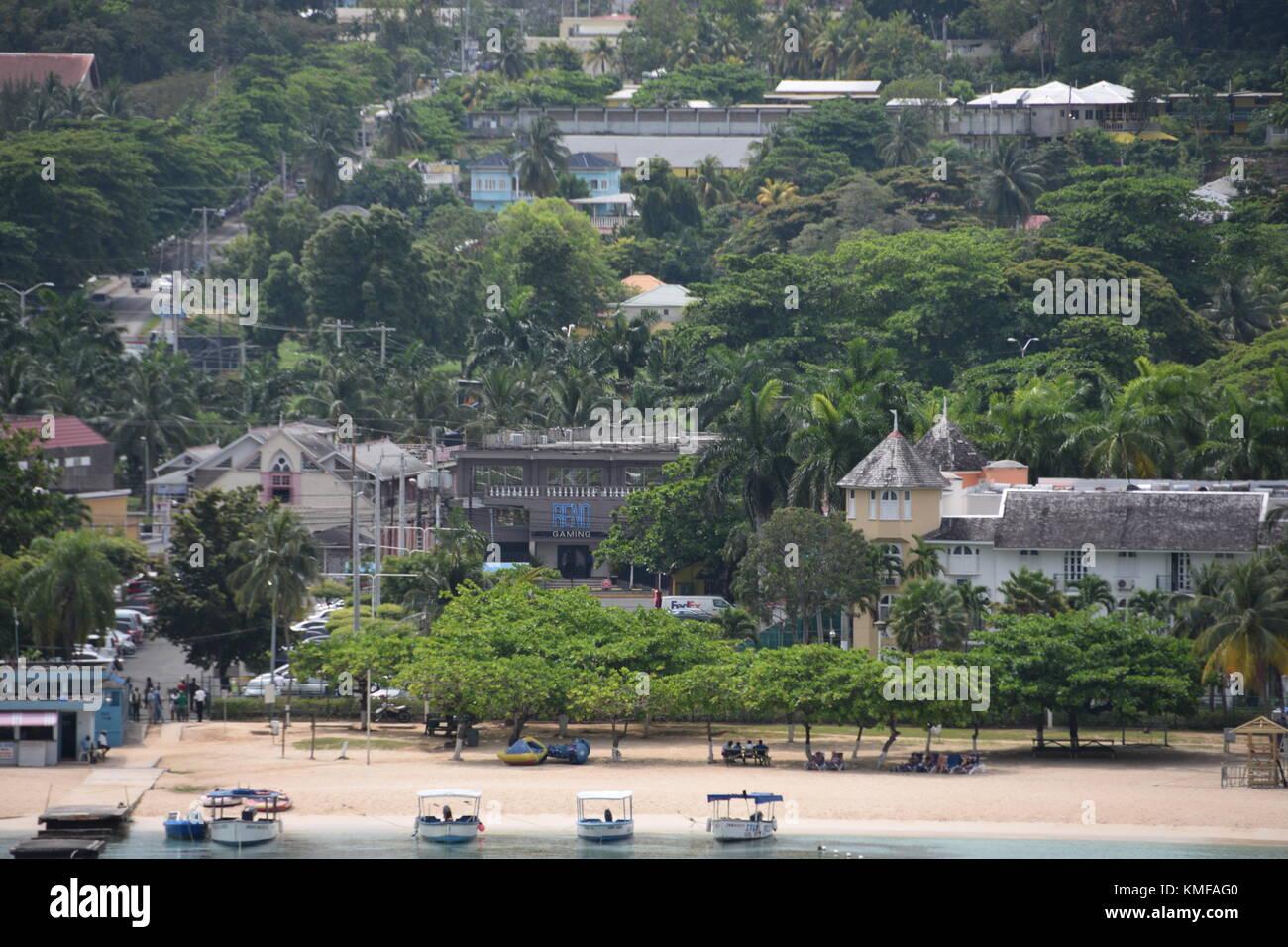 Ocho Rios, Jamaica, Caribbean - Stock Image