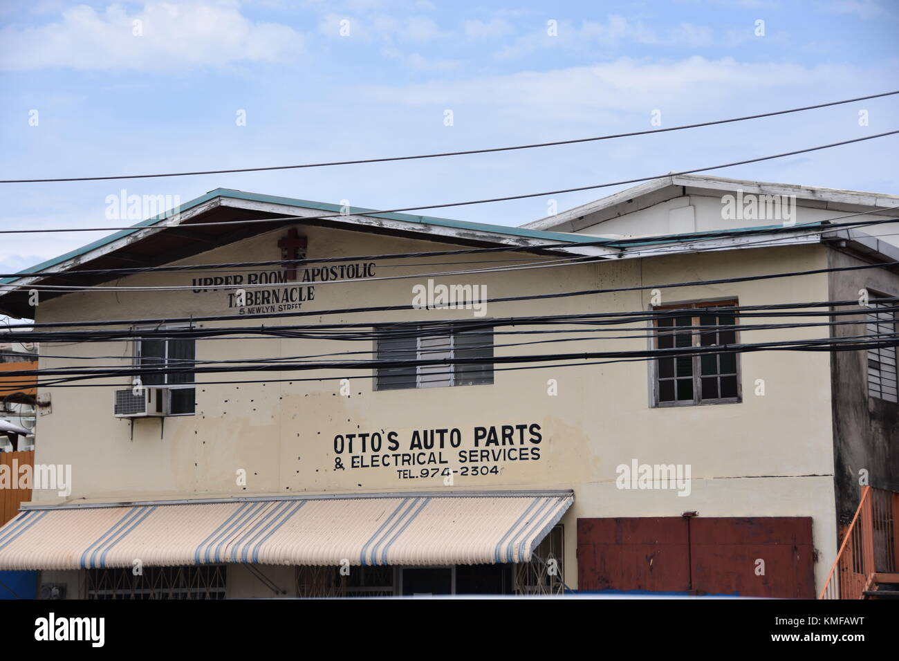 Parts Of Jamaica >> Otoo S Auto Parts Ocho Rios Jamaica Caribbean Stock Photo