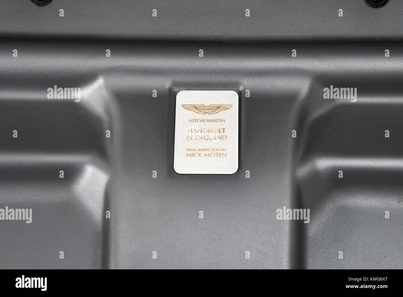 2007 Aston Martin DBS V12 - Stock Image