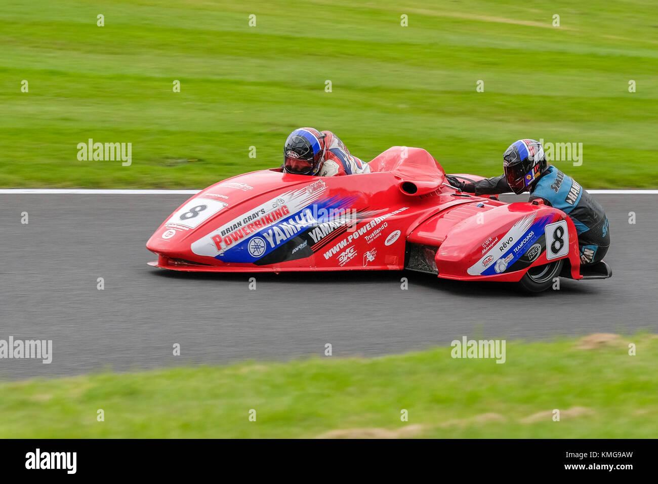 Hyundai British Sidecar Championship, Cadwell 2017 - Stock Image