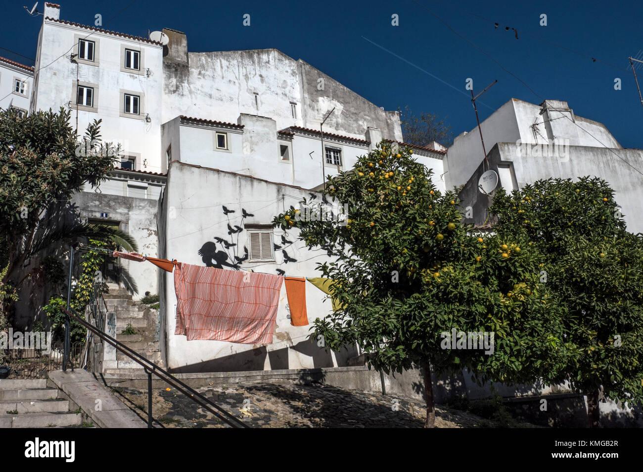 Architecture Lisboa Stock Photo