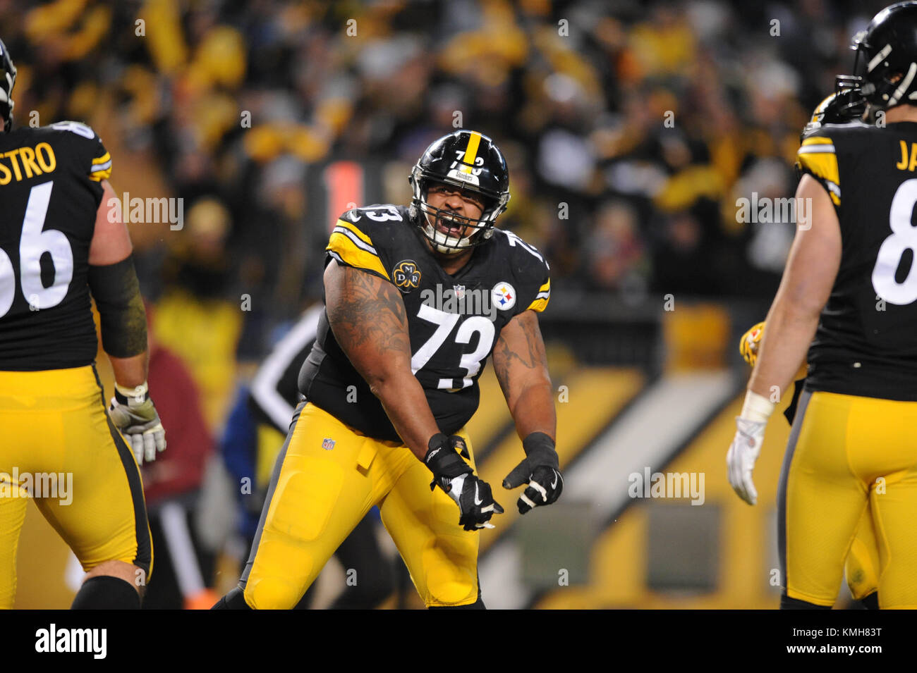 best service ed236 16787 Pittsburgh, PA, USA. 10th Dec, 2017. Steelers Ramon Foster ...