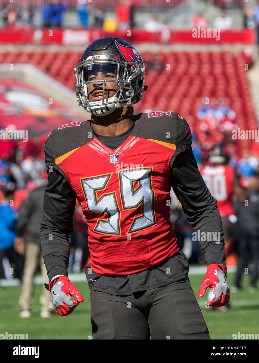 outlet store f6ad2 5c8a3 December 10, 2017 - Tampa Bay Buccaneers outside linebacker ...