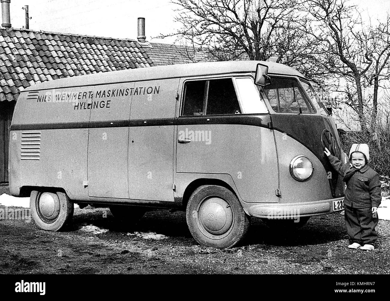 The first VW Type 2 in Sweden 1950 001 - Stock Image