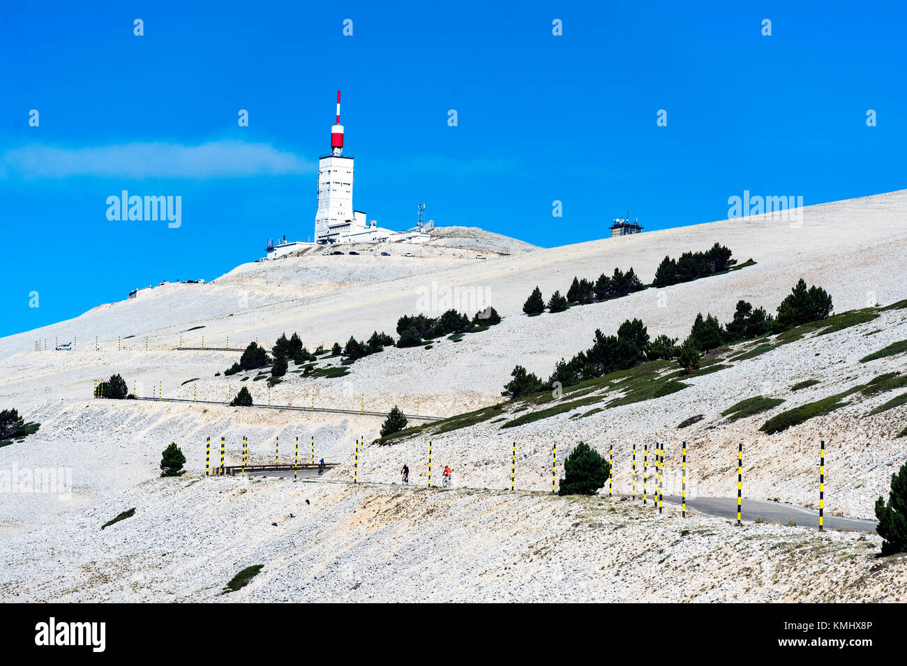 Vaucluse (84). Le Mont Ventoux. La station du Mont Serein // France. Vaucluse (84). The Mont Ventoux. The Mont Serein - Stock Image