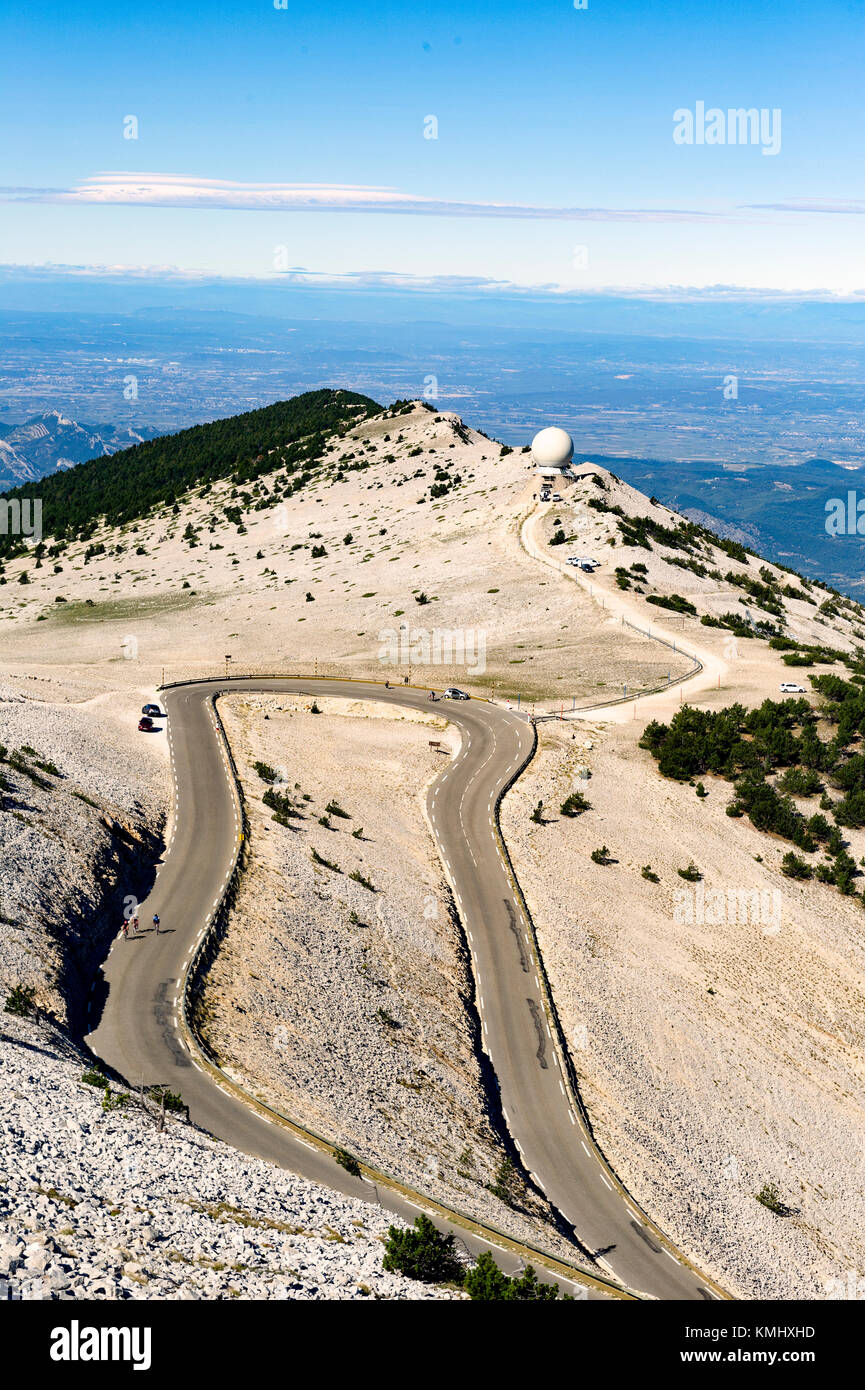 France. Vaucluse (84). The Mont Ventoux - Stock Image