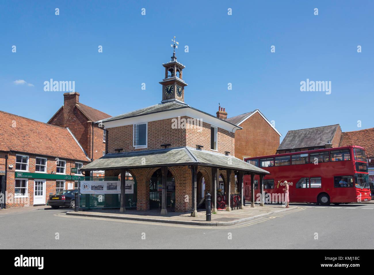 17th century Market House, Market Square, Princes Risborough,  Buckinghamshire, England, United
