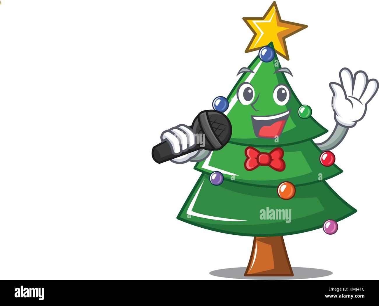5cba422cec70c Singing Christmas Tree Stock Photos   Singing Christmas Tree Stock ...