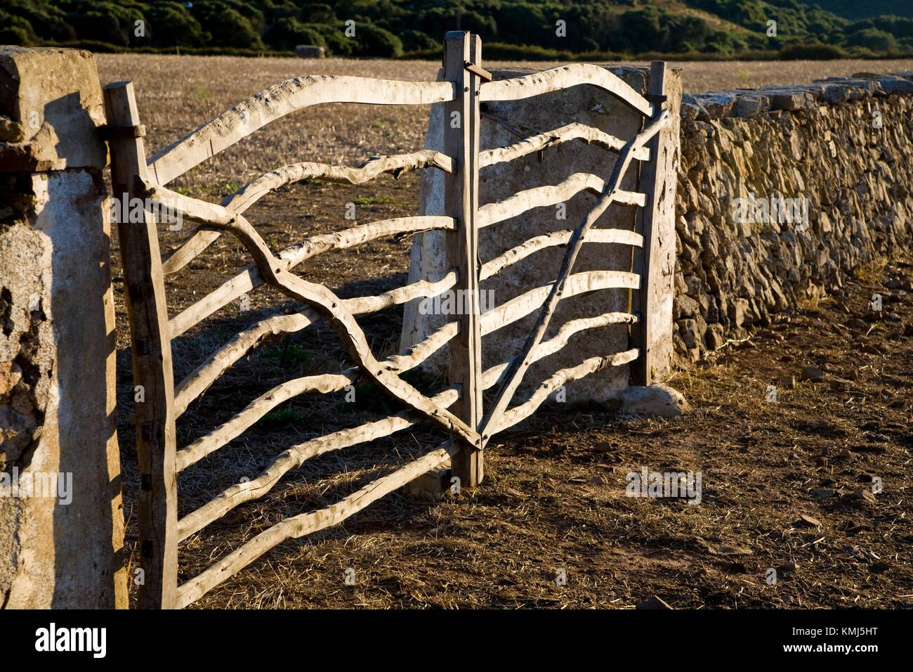 Cami d´en Kane. Menorca. Balearic Islands. Spain. - Stock Image