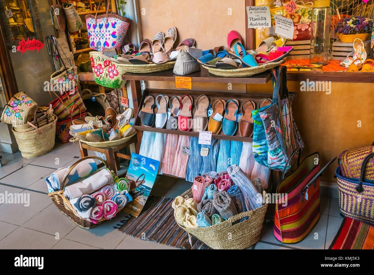 Cloister of Carmen Market. Maó City. Maó Municipality. Menorca Island. Balearic Islands. Spain - Stock Image