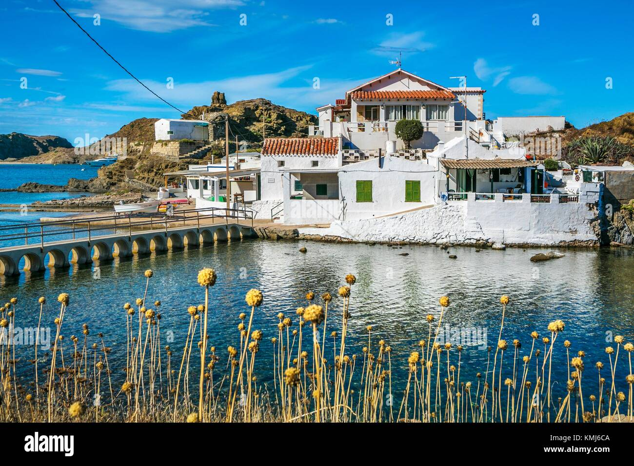 Sa Mesquida. Mao Municipality. Minorca. Balearic Islands. Spain - Stock Image