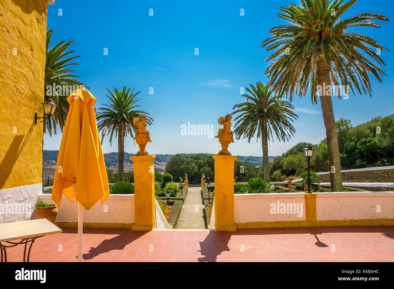 Binissues manor houses of the eighteenth century is where the new Museum of Natural Sciences of Menorca is located. - Stock Image