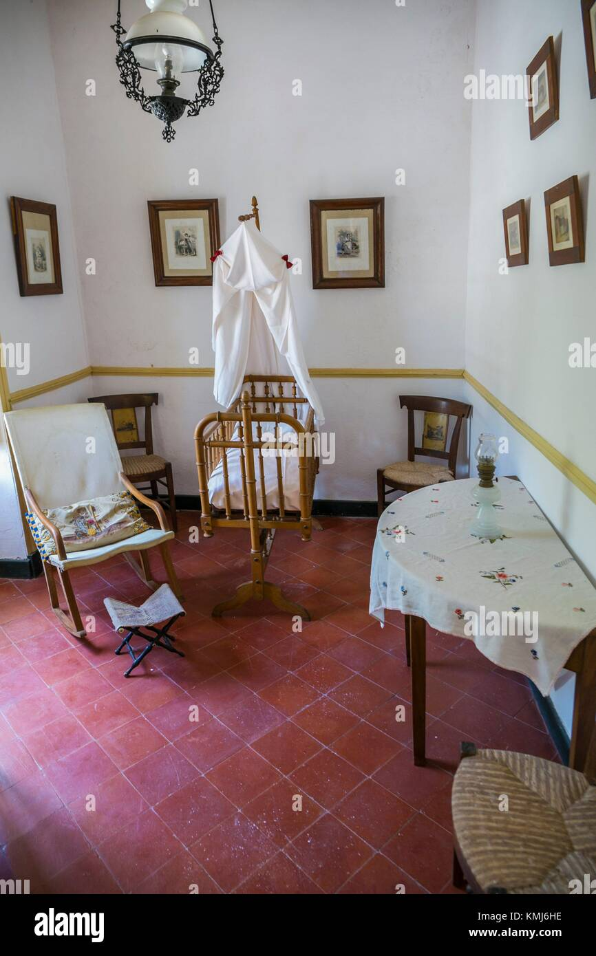 Manor House.Binissues manor houses of the eighteenth century is where the new Museum of Natural Sciences of Menorca Stock Photo