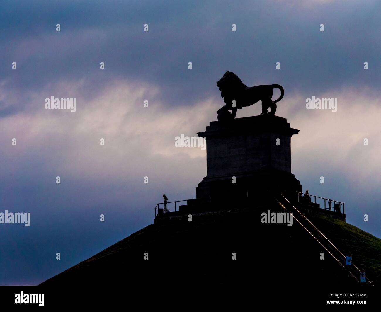 Belgium, Waterloo- ''La Bute du Lion''. - Stock Image
