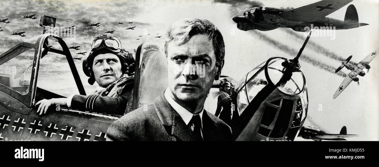 Movie poster illustration of the film Battle of Britain, 1969 - Stock Image