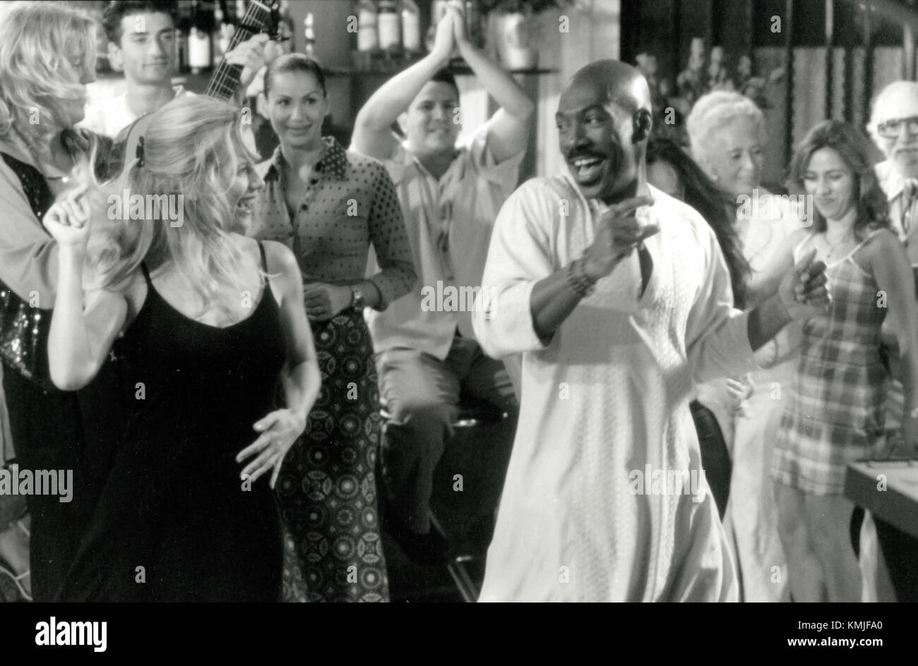 Actors Eddie Murphy and Kelly Preston in the movie Holy Man, 1998 - Stock Image