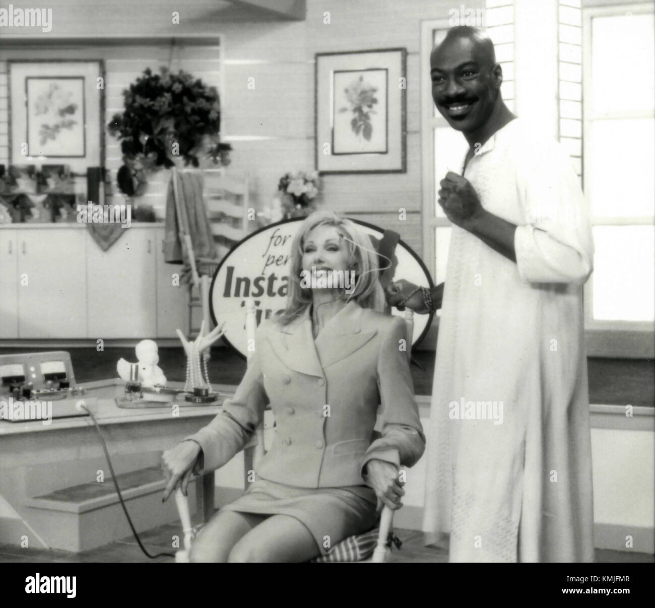 Actors Eddie Murphy and Morgan Fairchild in the movie Holy Man, 1998 - Stock Image