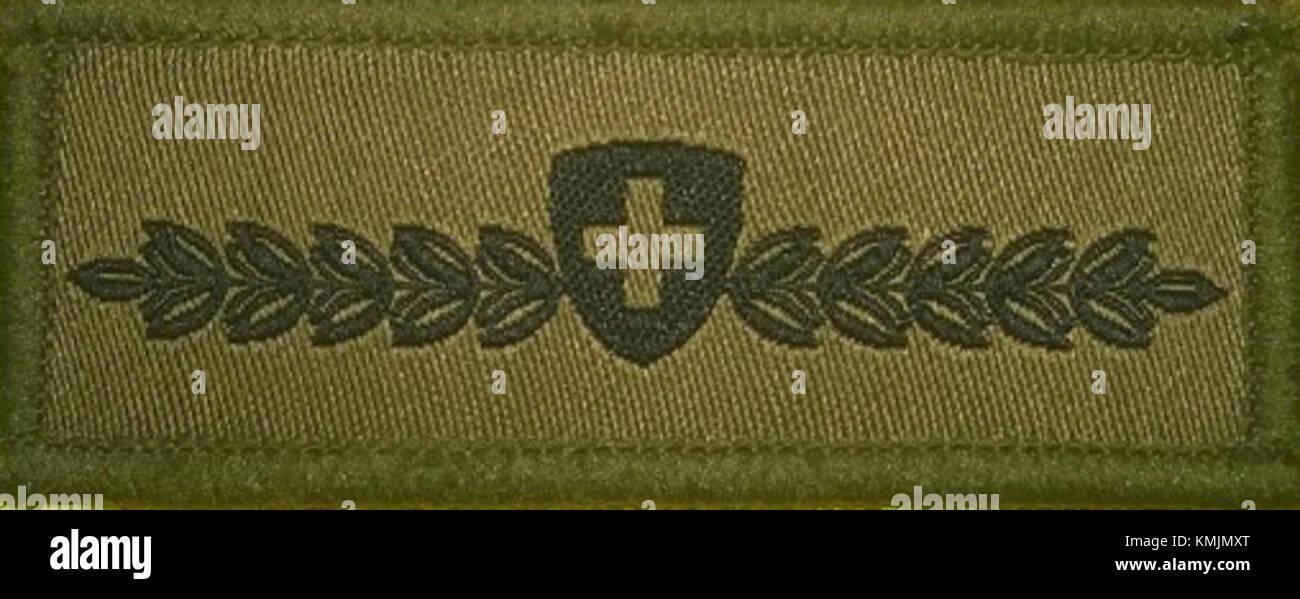 Miliz Abzeichen - Stock Image