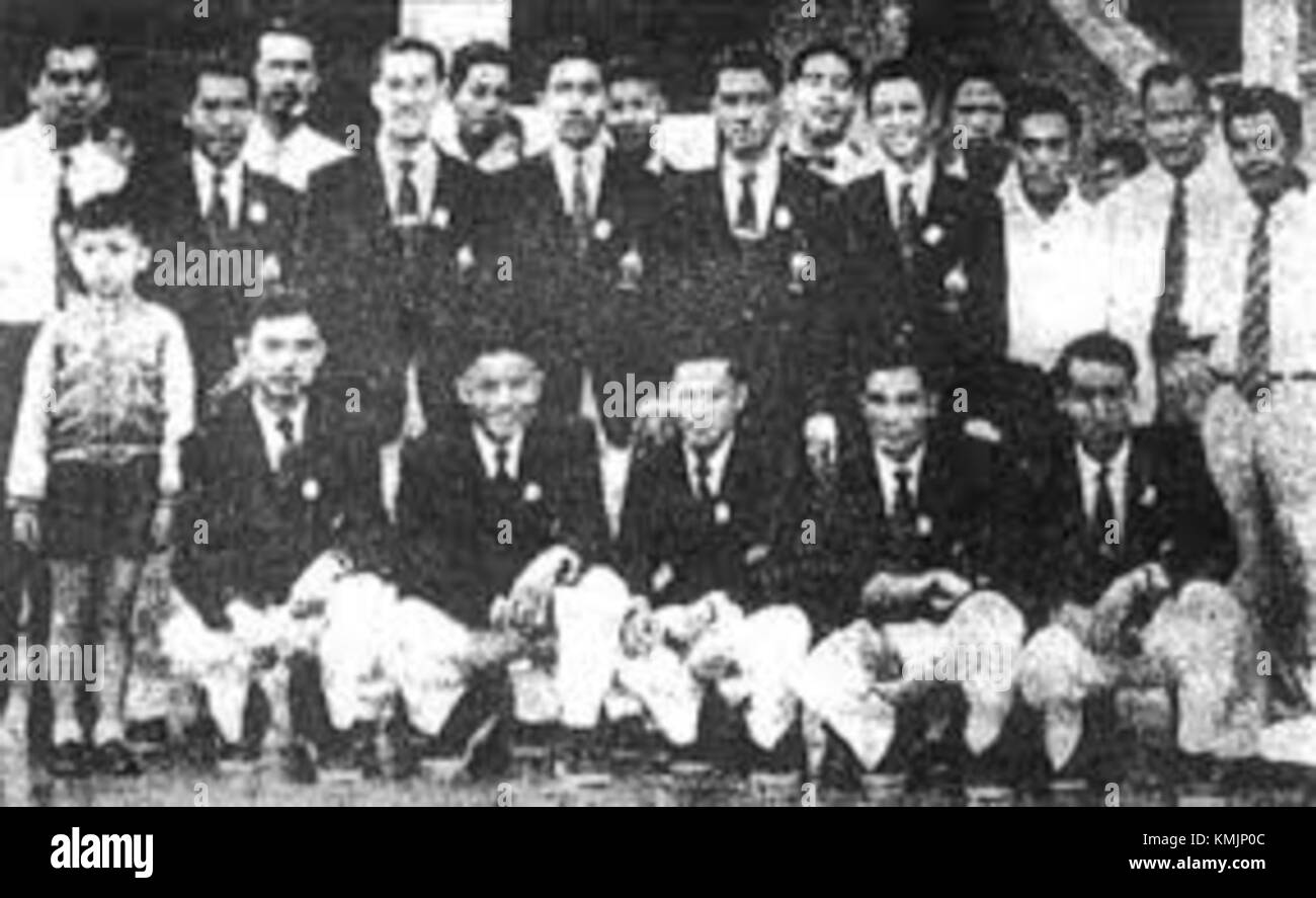 Thai team at 1956 Summer Olympics - Stock Image