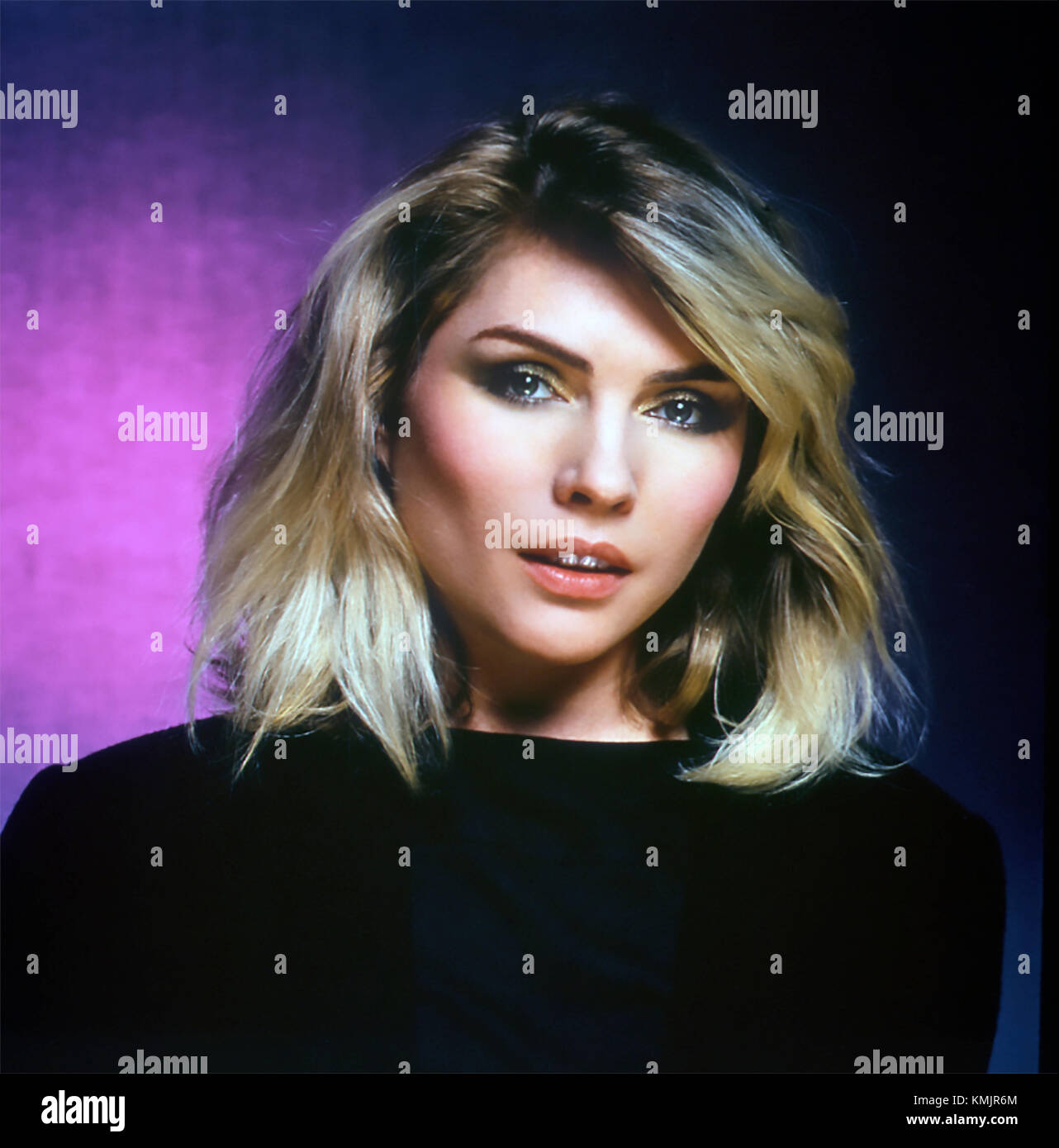 DEBBIE HARRY US Promotional photo of US  rock singer about 1975 - Stock Image