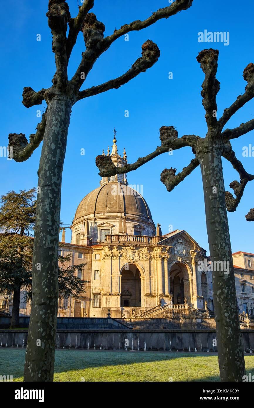 Santuario San Ignacio de Loyola, Camino Ignaciano, Ignatian Way, Azpeitia, Gipuzkoa, Basque Country, Spain, Europe - Stock Image