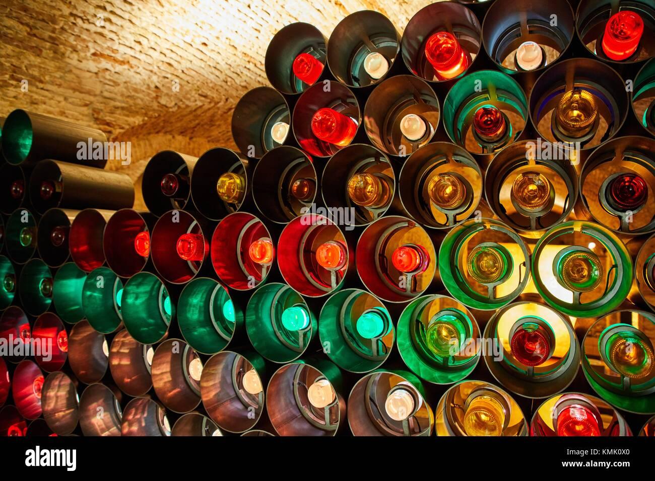 Fabrica de cerveza Moritz, Ronda Sant Antoni, Barcelona, Catalonia, Spain - Stock Image