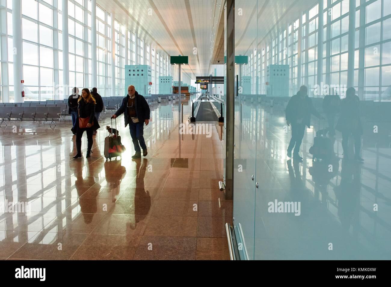 El Prat Airport, Barcelona, Catalonia, Spain - Stock Image
