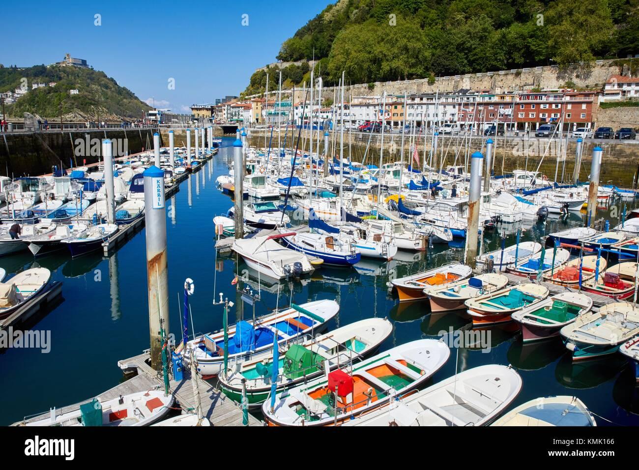 Port, Donostia, San Sebastian, Gipuzkoa, Basque Country, Spain - Stock Image