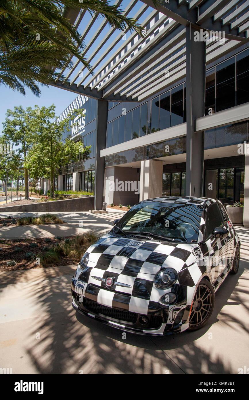 ff96c2e788c The Vans Shoe Company corporate headquarters facade in Costa Mesa ...